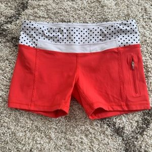 Lululemon shorts, size 8